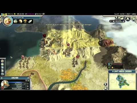 Sid Meier's Civilization V - Episode 2 - Initial Dealings with the Early World
