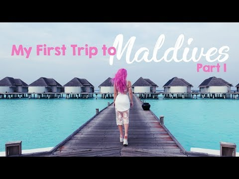 My First Time In Maldives! Vlog part 1