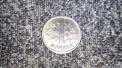 Finland 1 Markka Suomen Tasavalta Coin 1990