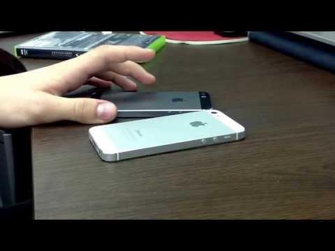 Различие iPhone 5 и 5s