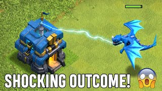 Max Electro Dragon Vs. Giga Tesla | Who will win? | Shocking Outcome! | Clash of Clans