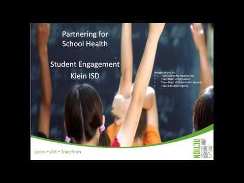 Partnering for School Health — Student Engagement