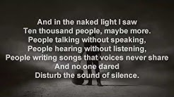 Disturbed - The Sound of Silence [LYRICS]