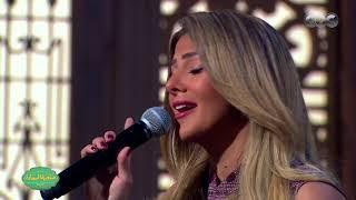 صاحبة السعادة دنيا سمير غانم تبدع في غناء حكاية واحدة مع إسعاد يونس