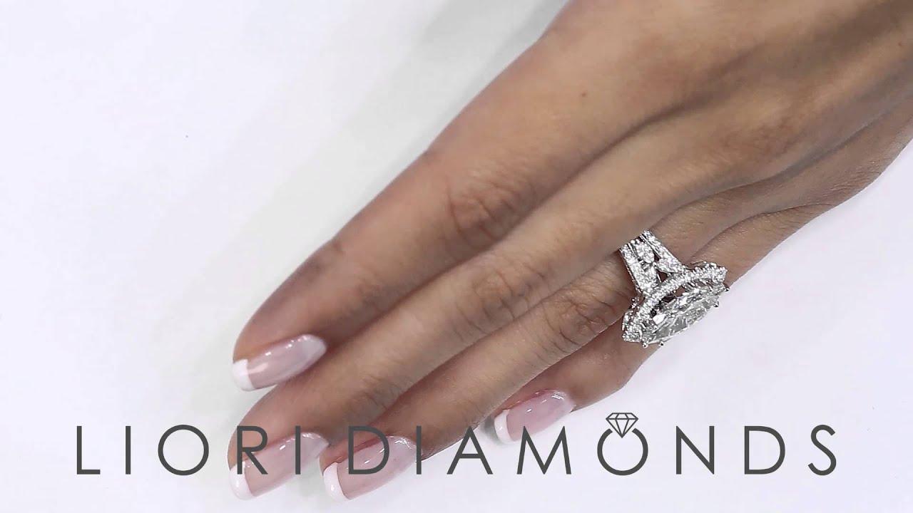 Diamond Marquise Wedding Ring