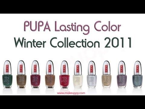 Review smalti PUPA Winter Collection 2011