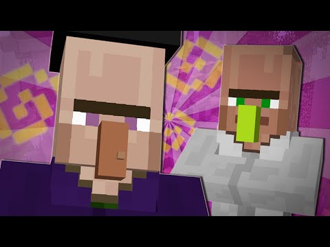 TRAYAURUS AND THE WITCH | Minecraft - TheDiamondMinecart  - 8glpiqPrPY0 -