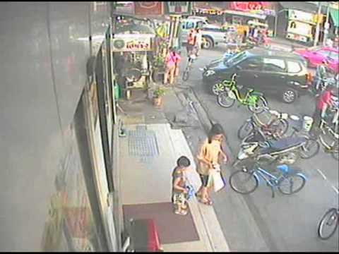 Thief is steal Green bike (โจรขโมย จย. สีเขียว)