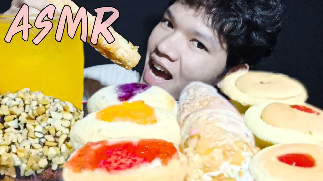 ASMRขนมปัง,BREAD,CAKE,JAM