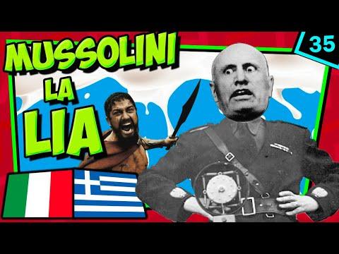 IIGM💥 El FAIL De MUSSOLINI 🤦🏻♂ Guerra Greco-Italiana