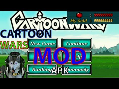 Catrtoon Wars Mod Apk Terbaru Youtube