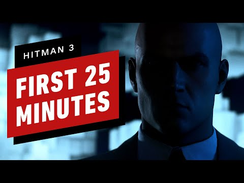 The First 25 Minutes of Hitman 3 Gameplay in 4K60