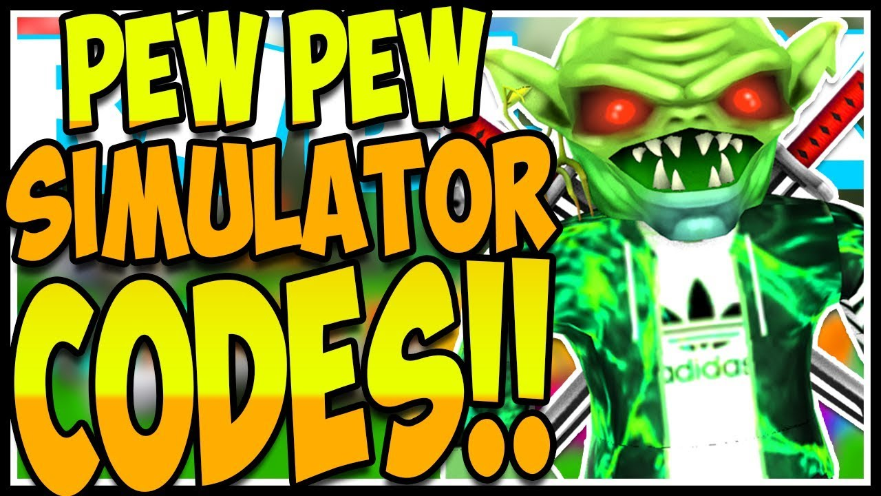 ALL SECRET CODES PEW PEW SIMULATOR🏹Pew Pew Simulator ...