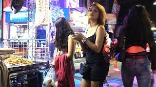 Pattaya Walking Street - Street Food And Nightlife