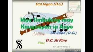Mga Simbulo ng Anyo (Musical Forms) - Interactive Music Lesson Module