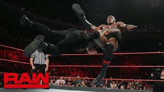 Roman Reigns and Bobby Lashley battle for SummerSlam opportunity: Raw, July 24, 2018
