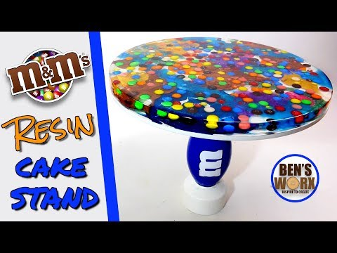 How to make an M&M Cake stand