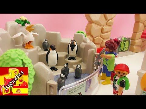 Playmobil en español - Construcción de Zoologico de Playmobil -Playmobil City life