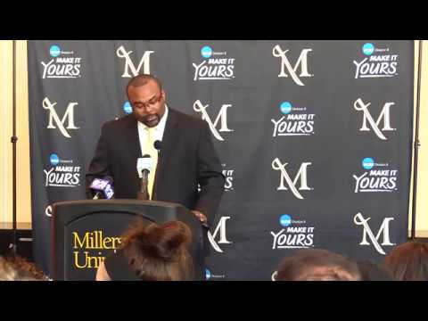 J.C. Morgan - Millersville University Football Head Coach Introductory