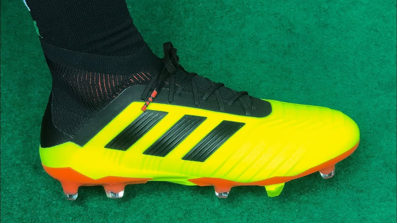 d345bd99fff Adidas Predator 18.1 (ENERGY MODE PACK) - Unboxing