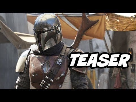 Star Wars The Mandalorian Teaser and Special Scenes Breakdown