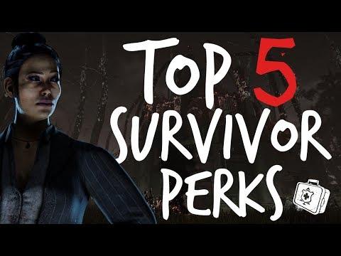 Top 5: Survivor Perks In Dead By Daylight
