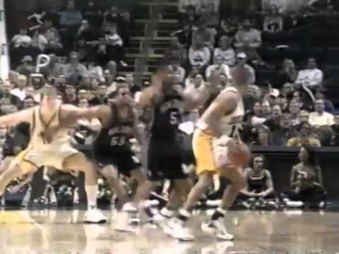 NEW JERSEY NETS V INDIANA PACERS 1999 (reggie miller vs keith van horn) NBA