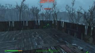 Fallout 4 Стрелок капрал против болотника