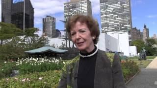 Lusha Chen interview with Mary Robinson, former President of Ireland