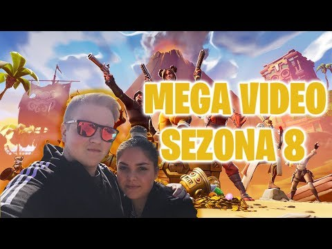 SEZONA 8!!!!! | MEGA VIDEO | Fortnite: Battle Royale [SLO]