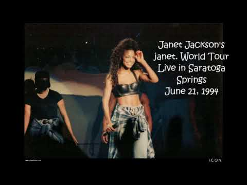 Janet Jackson - Live in Saratoga Springs [June 21, 1994 - Full HQ audio]