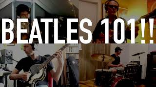 First semester of BEATLES 101 starts Thurs Aug 5th @ 5:30pm EST!