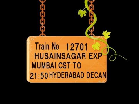 Train no 12701 TRAIN NAME HUSAINSAGAR EXP MUMBAI CST KALYAN JN PUNE JN  KURDUVADI