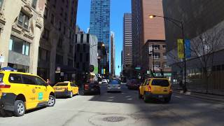 Chicago Downtown driving travel 0419 4K  50