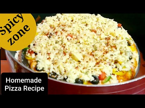 Homemade pizza Recipe| Dominos Burst pizza |Easy no oven pizza Recipe| Easy pizza Recipe