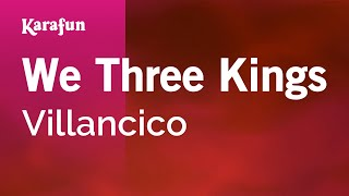 Karaoke We Three Kings - Christmas Carol *