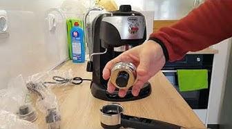 Разопаковане и тест на кафемашина DeLonghi EC221.B