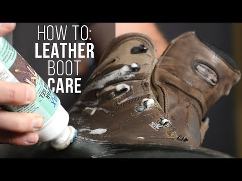 Leather Boot Cleaning And Conditioning - How To Protect Your Feet And Your Investment