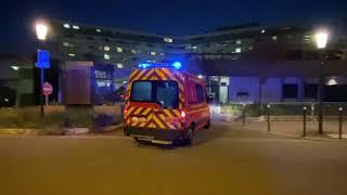 Coronavirus : applaudissements devant l'Hôpital Ambroise-Paré (26 mars 2020, Boulogne-Billancourt)