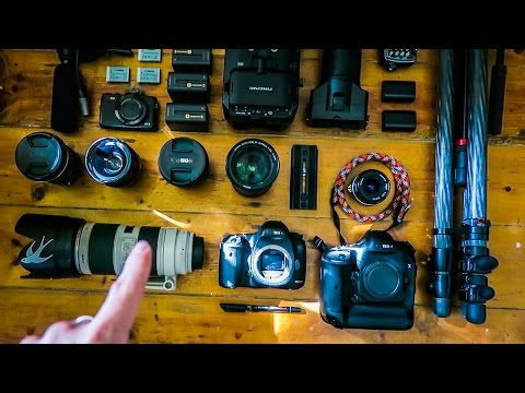 What's in my camera bag? - Ben Brown