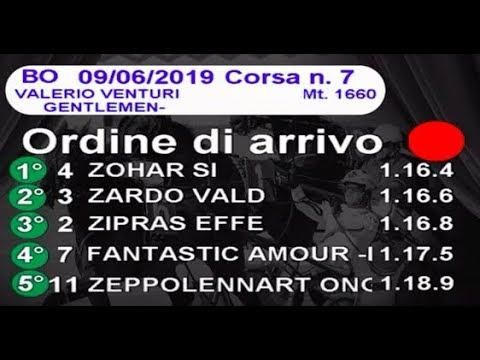 2019 06 09   Corsa 7   Metri 1660   Premio Valerio Venturi