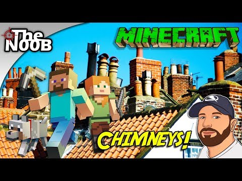 Minecraft: House Updates: Chimneys! #20 | LIVE STREAM | TheNoob Official