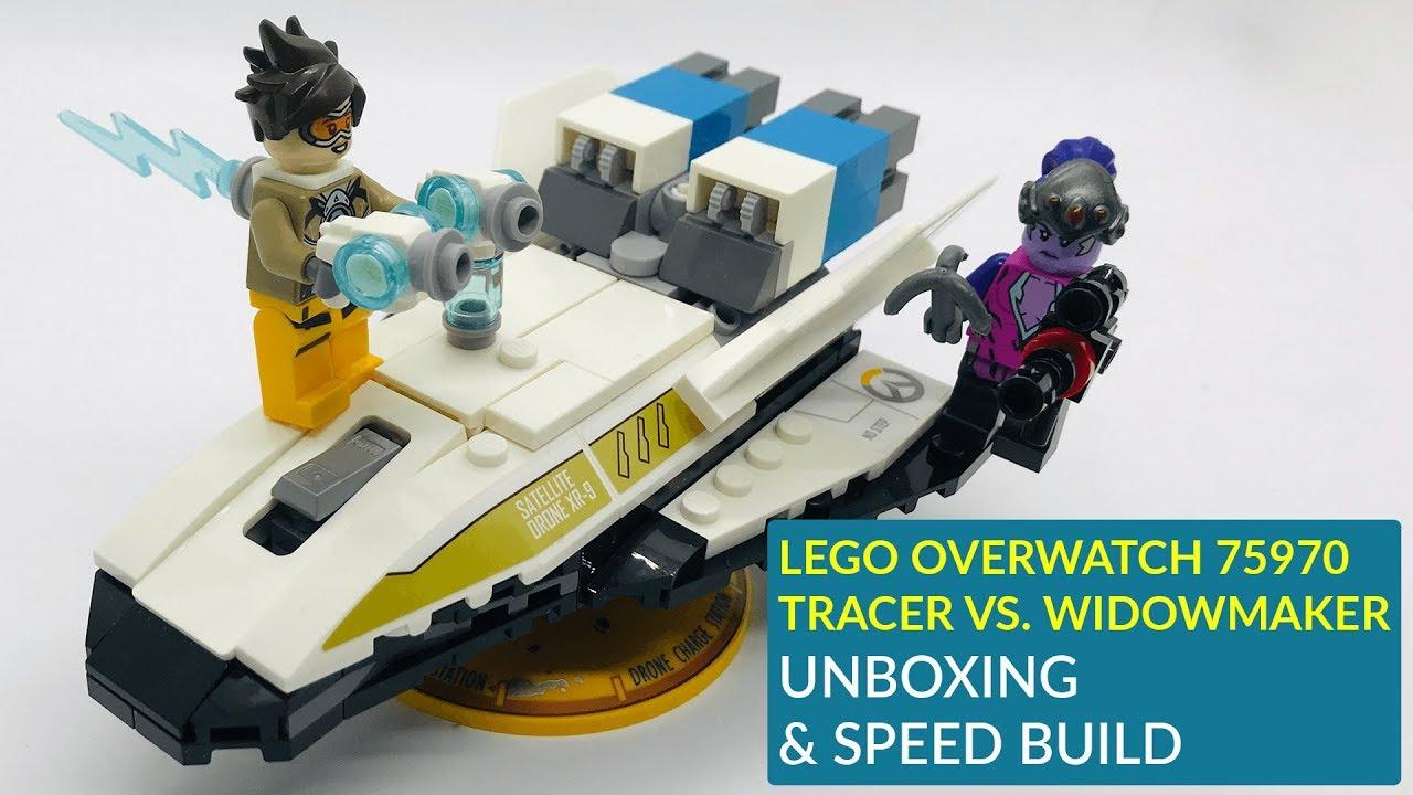 Lego Overwatch Traceur vs Widowmaker 75970