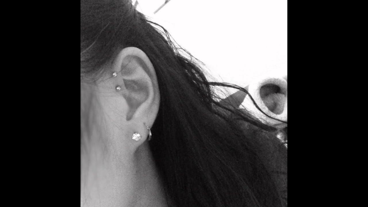 Ideal Discussion On: Piercings Update (Tragus Piercing and Double  BE14