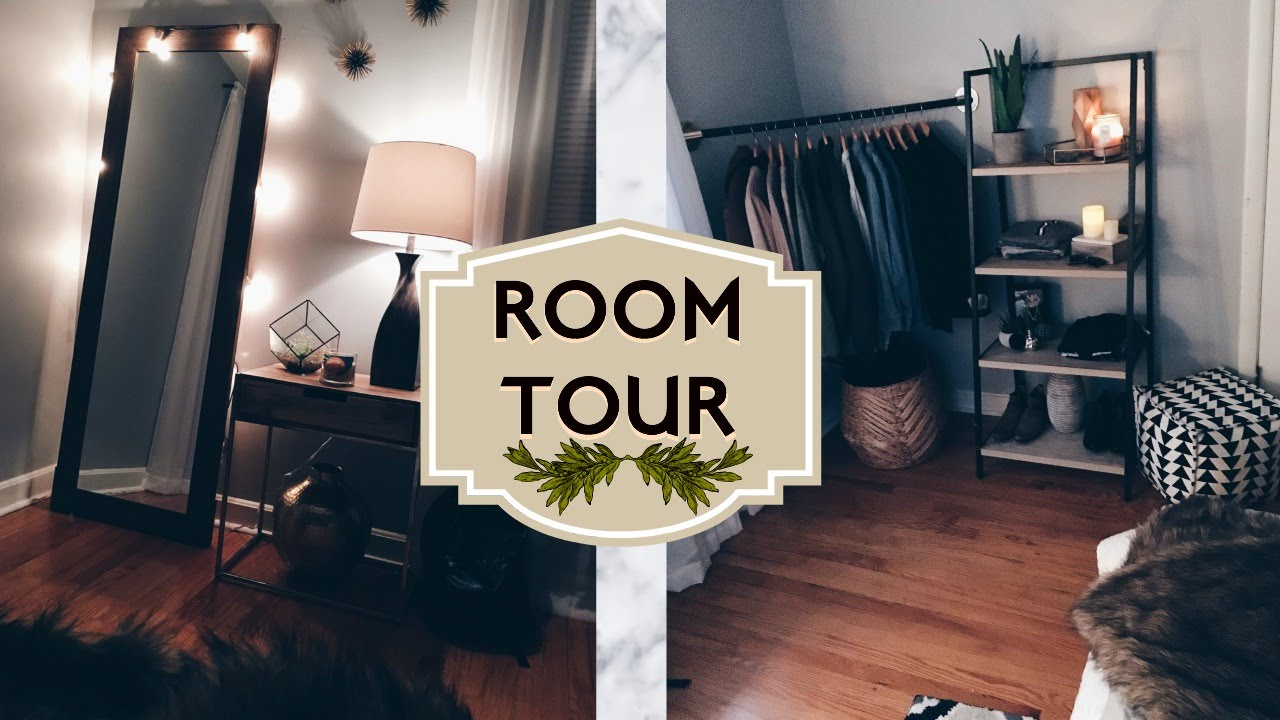 Room tour 2016 urban outfitters inspired youtube Urban outfitters bedroom lookbook