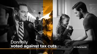 Senator Donnelly Voted Against Tax Cuts For Hoosiers