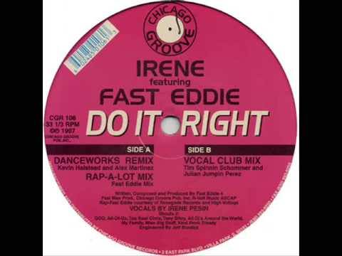 Irene Featuring Fast Eddie - Do It Right (Vocal Mix) mp3