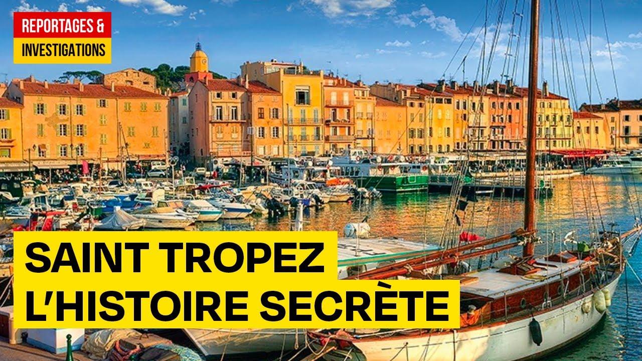 Saint Tropez, histoire secrète d'un petit port de pêche - Documentaire complet - HD
