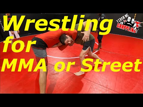 Standing Front Headlock ESCAPE!  Wrestling for MMA or STREET!!