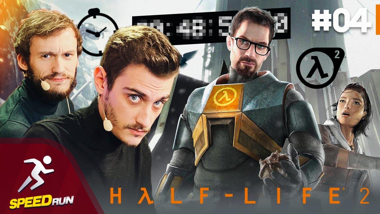 Download Hugo et Laink commentent la Run incroyable de maltemller sur Half-Life 2 | SpeedRun #04